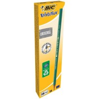 BIC Ecolutions Evolution 650 HB Pencil (Pack of 12)