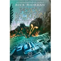 Percy Jackson and the Olympians: The Battle of the Labyrinth (Book 4) by Rick Riordan- Paperback