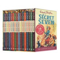 The Secret Seven 16 Books Set Collection by Enid Blyton