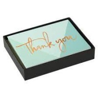 Lovely Day Luxe Thank You Notecards