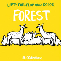 Forest (Lift-the-Flap and Color) by Bowsher, Alice