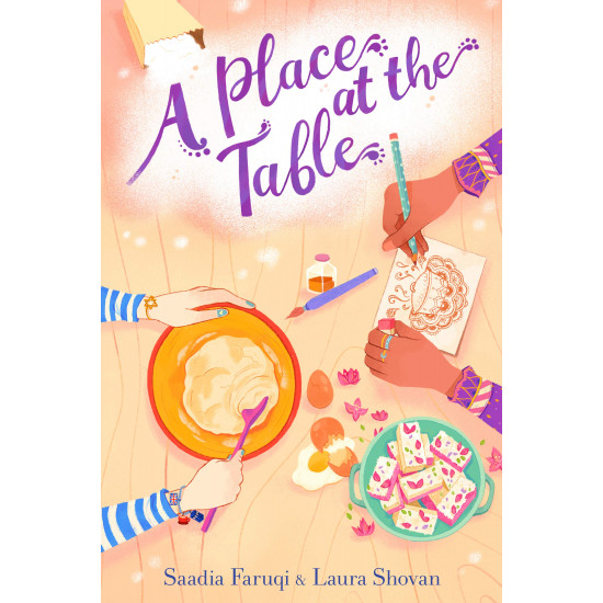 A Place at the Table by Faruqi Saadia Faruqi (Author), Shovan Laura Shovan (Author)-Hardcover