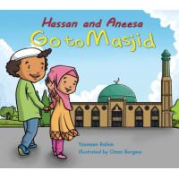 Hassan and Aneesa Go to Masjid by Yasmeen Rahim