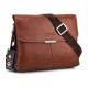 Men messenger leather bag