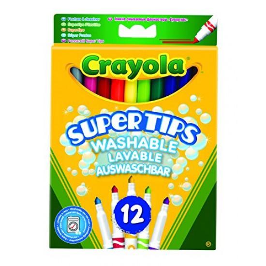 Crayola Bright Supertips x 12