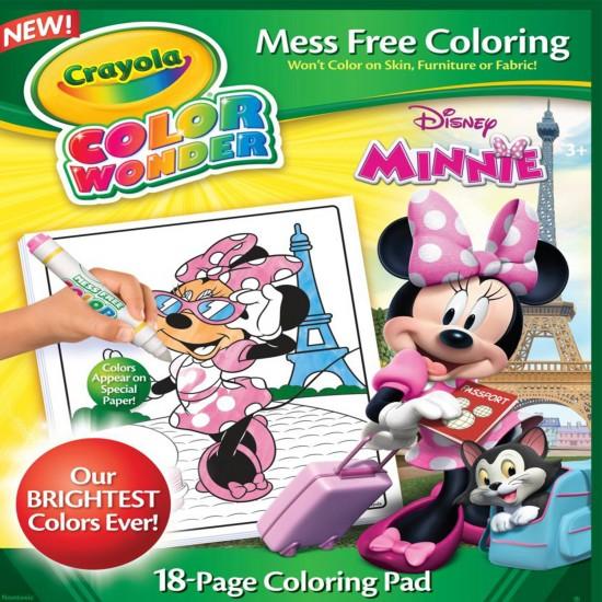Color Wonder Minnie Mouse