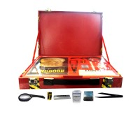 Complete Detective Crime Lab Briefcase including magnifying glass, Finger print pad (Spy Master Series)