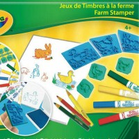 Crayola Farm Stamper Kit