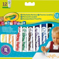 Minikids Markers by Crayola 12 Pieces