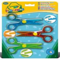 Crayola Mini Kids My First Scissors x 3