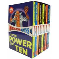 Murderous Maths 10 book Box Set Horrible Histories Series Pack Collection