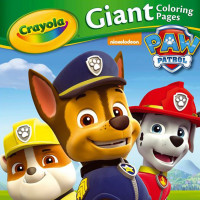 Paw Patrol Gaint Colouring Pages