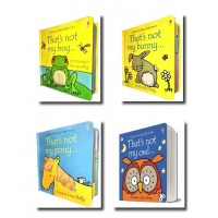 Pets Collection Usborne Touchy-Feely 4 Books Set That's not my pony, bunny..