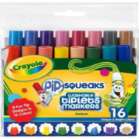 Crayola Pip Squeaks  Wacky Tip-16 Colors