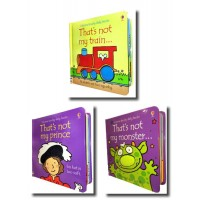 That's not my - Boy's Pack Three Book Set (Prince, Train, Monster)