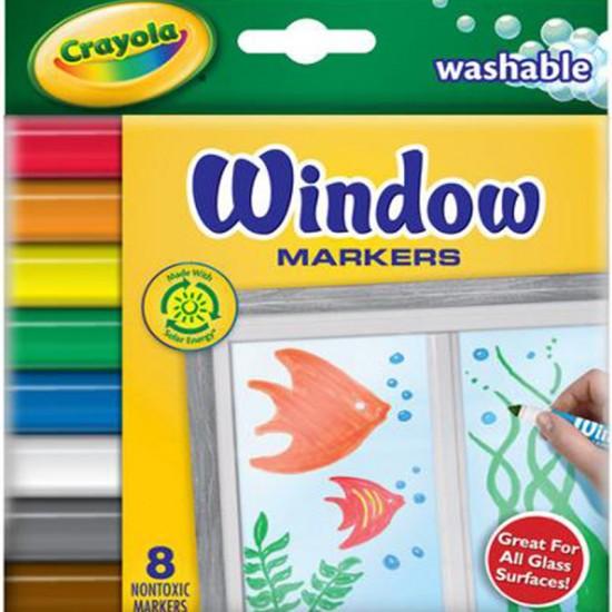 Washable Window Markers X 8