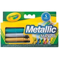 Metallic Markers- X 5 by Crayola