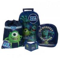 Disney Monsters University Inc Trolley Inc Set