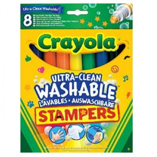 Crayola 8 Ultra Clean Washable Stampers