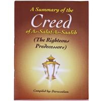 A Summary of the Creed of Salaf Saalih.