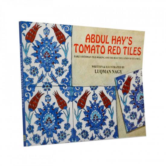 Abdul Hay's tomato red tiles