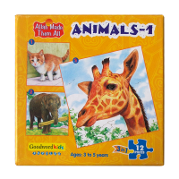 Animals 1: Allah Made Them All Puzzles