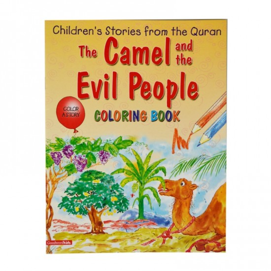 Camel and the Evil People (Colouring Book)