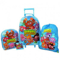 Moshi Monsters Trolley  4 Piece Set