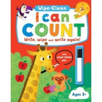 I Can Count Wipe and Clean Activity Book