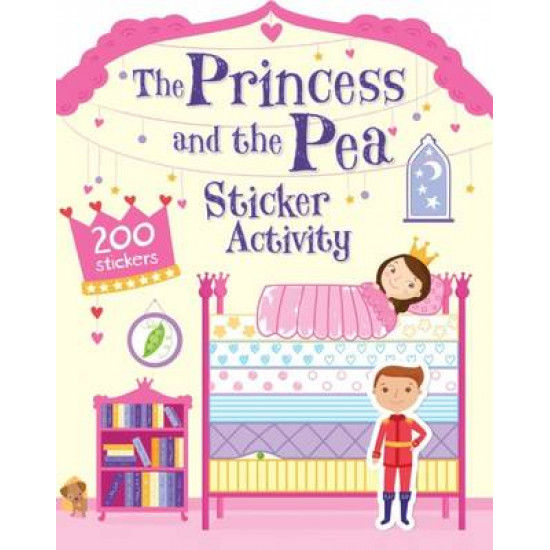 The Princess and the Pea Sticker Activity
