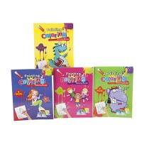 Assorted Painting/Coloring Activity Book- Each