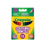 Coloured Pencil 12 in a Pack- Half length