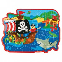 48 Count Puzzles Pirate
