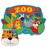 48 Count Puzzles Zoo