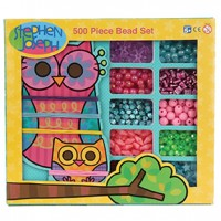 500 Piece Bead Sets Owl