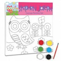 Canvas Paint Set Owl