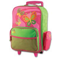 Butterfly Rolling Travel Luggage Bag