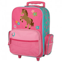 Horse Rolling Luggage Bag