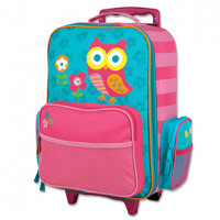 Owl Rolling Luggage Bag