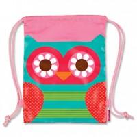 Drawstring Bag Owl