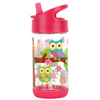 Flip Top Bottle Owl