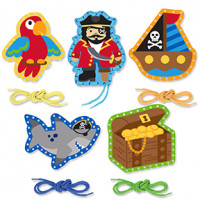 Lacing Card Sets - Pirate