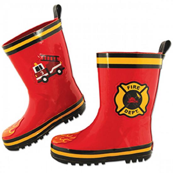 Rain boots  Firetruck
