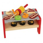 Wooden Play  Grill Set