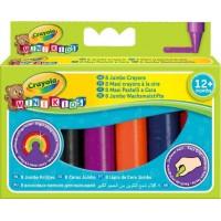 Crayola Mini Kids Jumbo Crayons - 8 colours