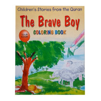 The Brave Boy (Colouring Book)