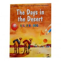 The Days in the Desert (Colouring Book)