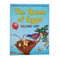 The Queen of Egypt (Colouring Book)