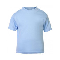 Baby Blue Unbranded Short Sleeve T-Shirt