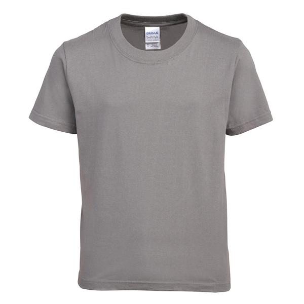Charcoal Gildan Soft Short Sleeve T-Shirt